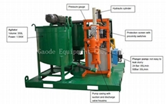 Popular good price grout equipment to Indonesia