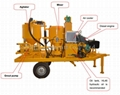 directly supply diesel engine drive mixing plant for cement grouts to Thailand