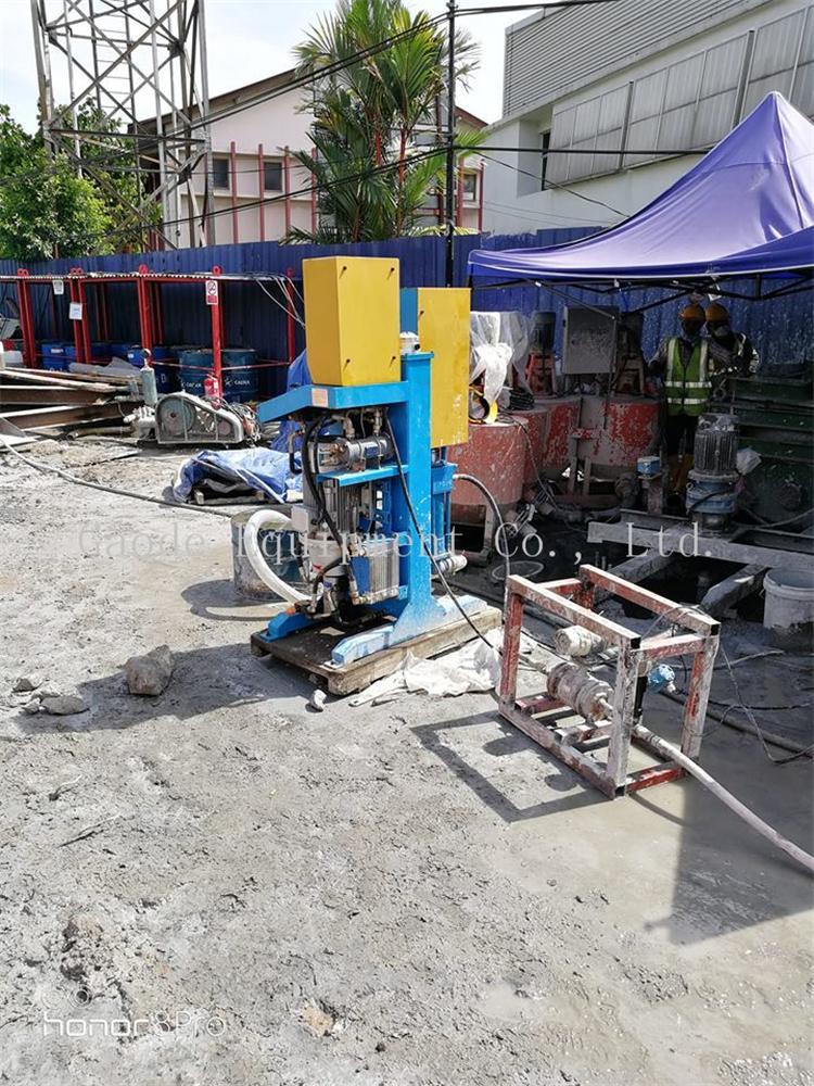 GDH75/100 高压立式注浆泵用在大坝 6