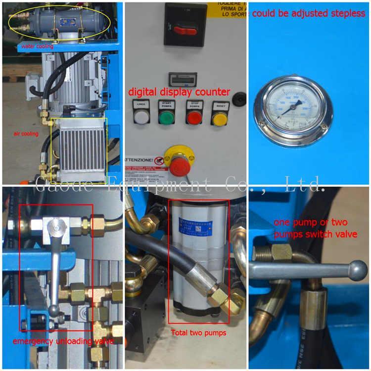 GDH75/100 高压立式注浆泵用在大坝 5