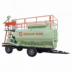 grass seed spraying machine slope hydroseeding machine