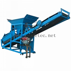 Chinese supply high performance diesel sand screen machinery on sale