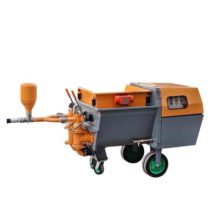 Mortar plaster pump