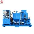 grout mix pump plant