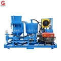 grout mix pump plant