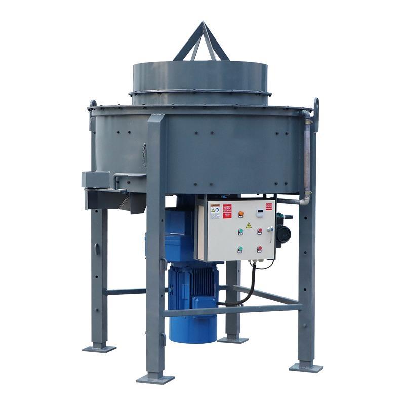 1000kg refractory pan mixer