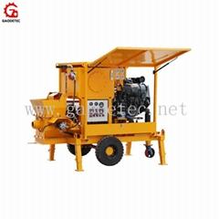 Easy Operation Diesel Mini Concrete Pump for Masonry Block Filling