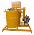 diesel grout mixer and agitator