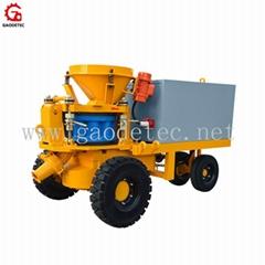 Professional Manufacturer 5m3/h electric drive wet shotcrete machine for mine
