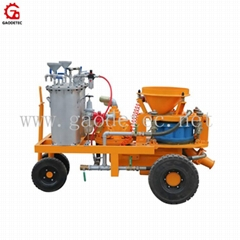 High Efficiency GSZ3000A Wet and Dry Mix Gunite Equipment