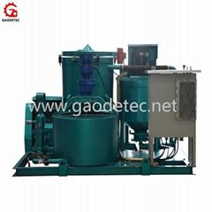 Hot sale mortar mixer pump to Indonesia