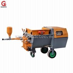 Double piston mortar spraying machine factory price