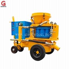 Dry Mix Gunite Electric Engine Shotcrete Machine Concrete Sprayer