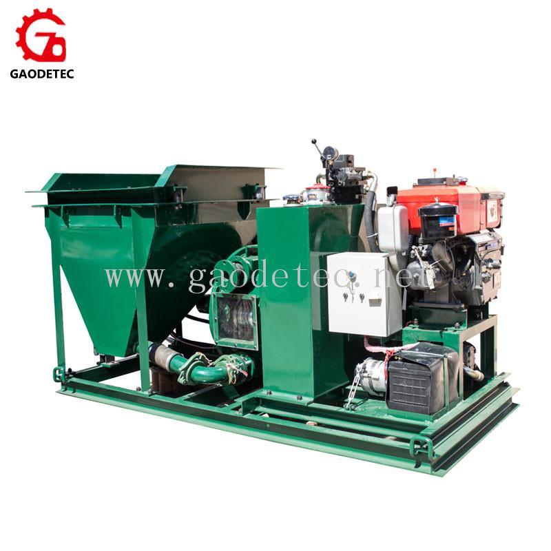 小型柴油機混凝土泵 2