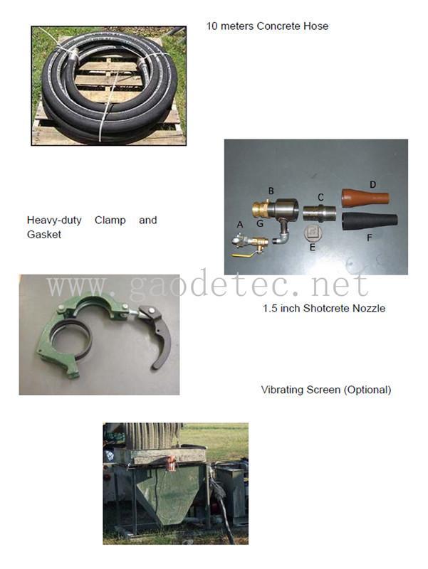 小型柴油机混凝土泵 10