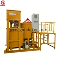 Large output grout turbo mixer and