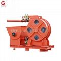 Hose type concrete pump for pumping