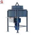 Output 1000kg refractory pan mixer for