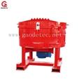 refractory pan mixer