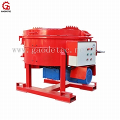 Low price refractory pan mixer machine for sale