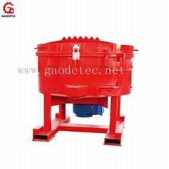 High quality refractory pan mixer machine price made in China