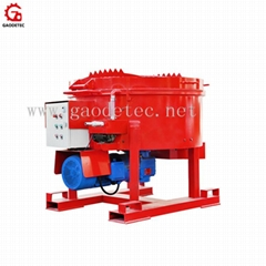 Factory supply refractory pan mixer machine price for sale