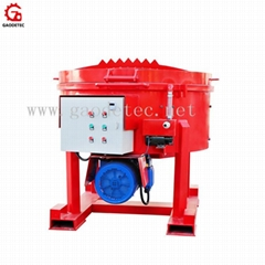 Professional refractory pan mixer machine price for sale