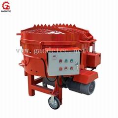 High efficiency inclined pan type intensive mixer refractory materials mixer