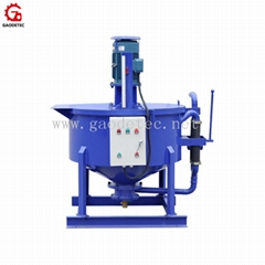 colloidal cement grout mixer for cable trench and anchor grouting