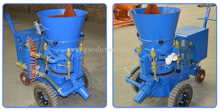 耐火材料干噴機 8