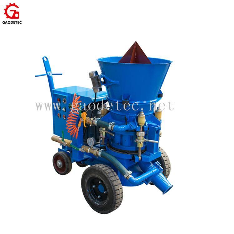 耐火材料干噴機 2