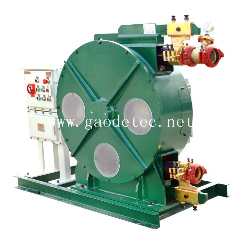 供應軟管泵 自吸能力強 可雙向旋轉 泵送料流穩定U型擠壓技術成熟 6
