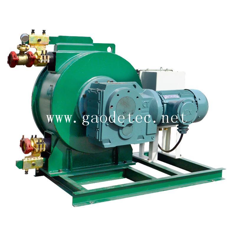 供應軟管泵 自吸能力強 可雙向旋轉 泵送料流穩定U型擠壓技術成熟 3