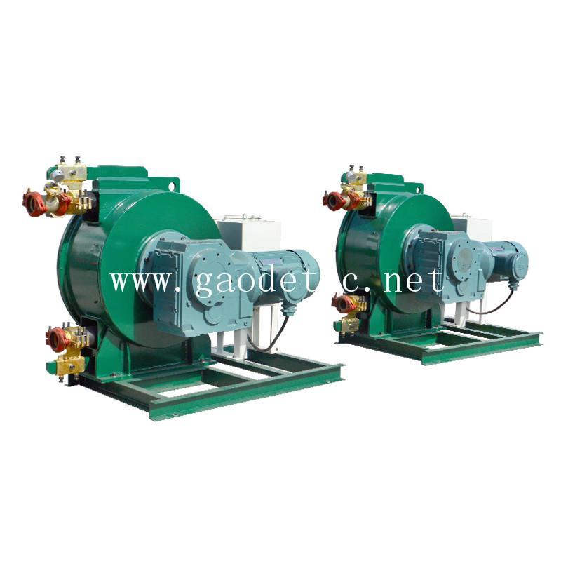 供應軟管泵 自吸能力強 可雙向旋轉 泵送料流穩定U型擠壓技術成熟 7