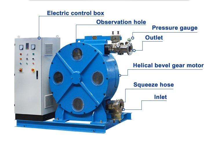 concrete hose pump
