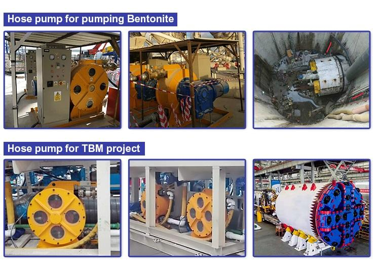Good quality easy to operate squeeze peristaltic pump for pumping bentonite in T 4