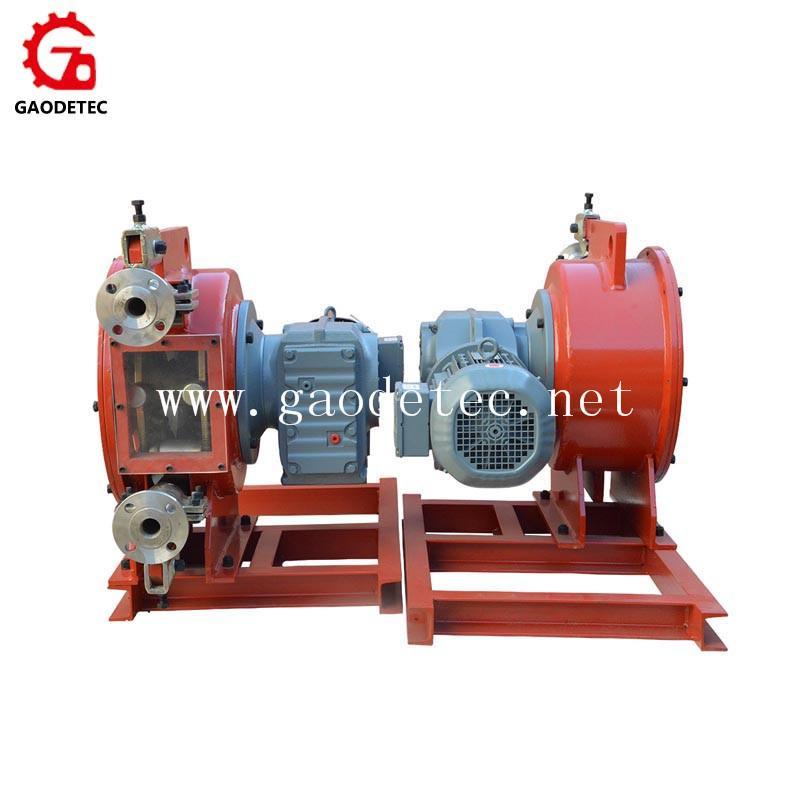 供應擠壓式管道泵變頻電機鏈輪連接GH系列工業軟管泵 全鋼結構 4