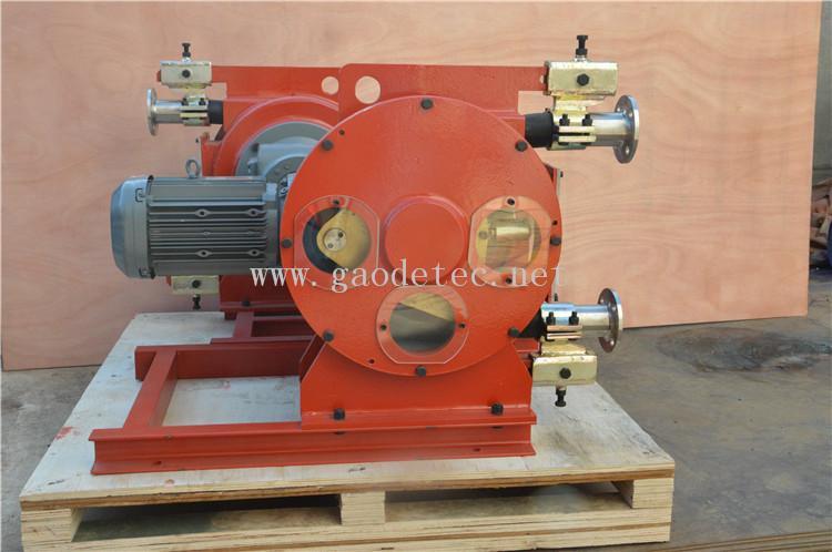 供應擠壓式管道泵變頻電機鏈輪連接GH系列工業軟管泵 全鋼結構 6