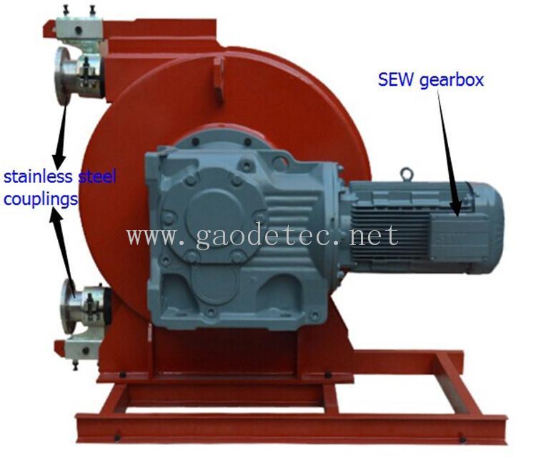 供應擠壓式管道泵變頻電機鏈輪連接GH系列工業軟管泵 全鋼結構 2