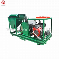 Customized GDS1500G for pumping wet cellular light concrete