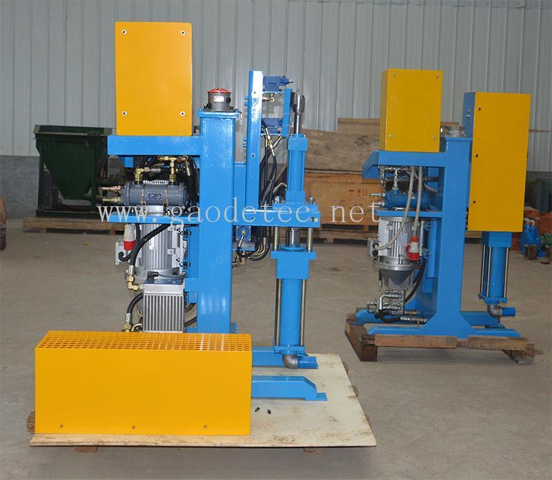 GDH75/100 高压立式注浆泵用在大坝 11