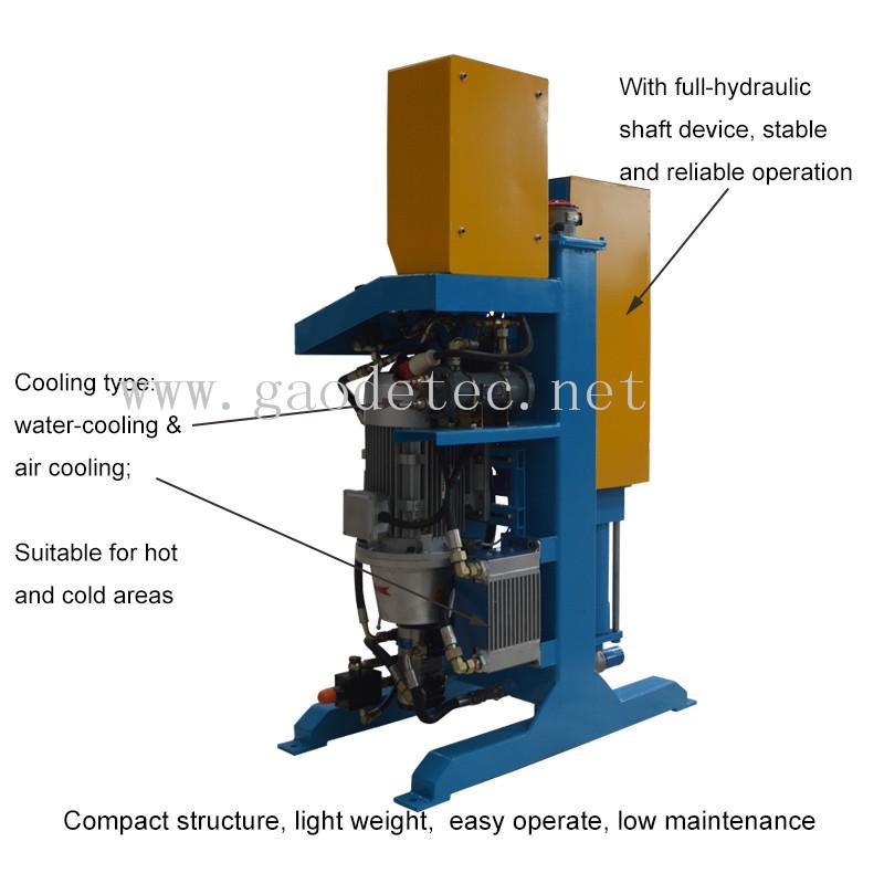 GDH75/100 高压立式注浆泵用在大坝 3