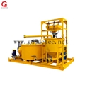 Jet grout mixer pump equipment cement