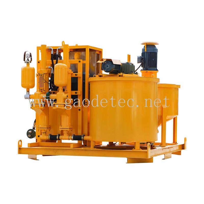 grout mixer agitator