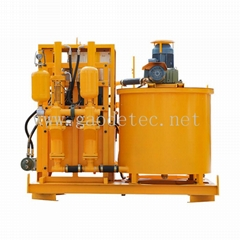 GGP400/700/80DPL-E electric grouting mixer pump grout station for bentonite slur (Hot Product - 1*)