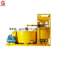 Jet grout mixer pump