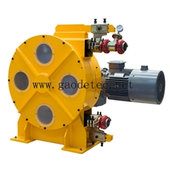 CLC light weight foam concrete hose pump