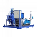 China electric engine grout injection plant for sale
