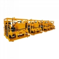 High quality diesel drive grout mixer and pump price 8