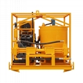 High quality diesel drive grout mixer and pump price 2